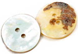Mother of Pearl Button large 75 quot