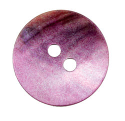 Lilac Pearl Button 34quot