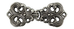 Scandinavian Style Silver Metal Clasp