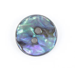 Mexican Abalone 916quot Button