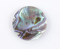Mexican Abalone 1 18quot Button