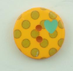 Yellow Dots Button