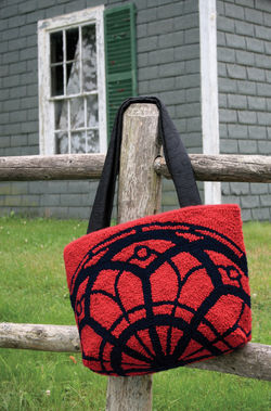 Rose Window Tote - pattern