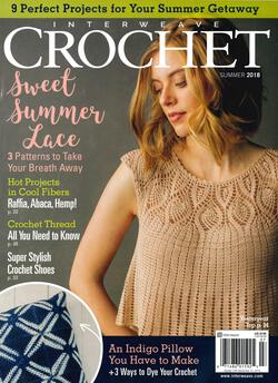 new book or magazine: Interweave Crochet Summer 2018