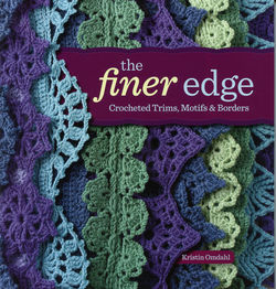 The Finer Edge  Crocheted Trims Motifs and Borders
