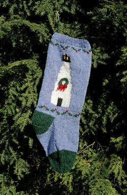 Lighthouse Christmas Stocking Kit
