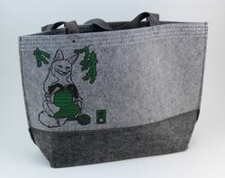 Fox Felt Market Tote by Mum n Sun Ink