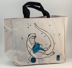 Otter Project Tote by Mum n Sun Ink