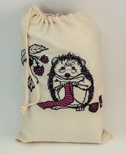 Hedgehog Project Bag by Mum n Sun Ink