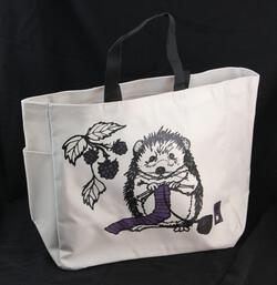 Hedgehog Project Tote by Mum n Sun Ink