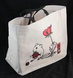Mouse Project Tote by Mum n Sun Ink