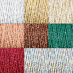 Chainette Metallic Yarn all colors photo