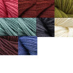 Jade Sapphire Cashmere 2-ply, approximately three inch tassel