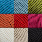 Cotton Fleece Yarn all colors photo