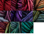 Malabrigo Mecha, approximately three inch tassel