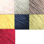 25 Gemstone Silk Yarn