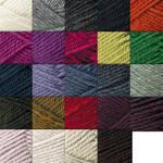 Jo Sharp Classic DK Wool Yarn, approximately three inch tassel