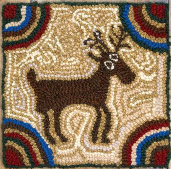 Rug Making patterns Maine Moose - Rug Hooking Instructions