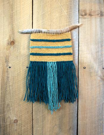 Weaving kits Triple Play Wall Hanging Kit - Teal