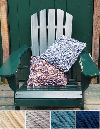 Knitting kits Eastport Pillow Kit - Whale