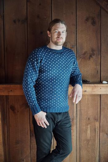Knitting patterns Lubec Pullover