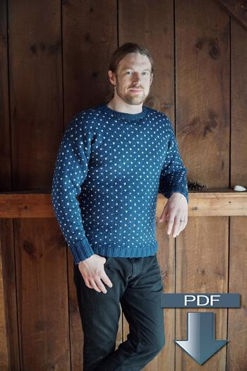 Knitting patterns Lubec Pullover - Pattern Download