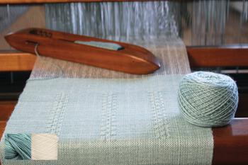 Weaving kits Cashmere Confection Scarf Kit - Verdigris