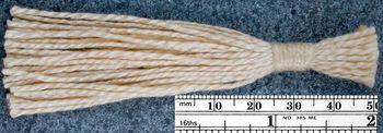 yarn tassel for 3/2 Pearl Cotton Yarn 082