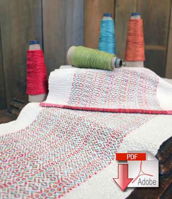 Weaving patterns Homeward Bound - Table Runner and Placemat Set - Pattern Download
