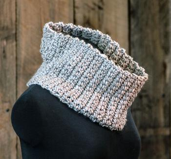 Crochet patterns Easy: Learn to Crochet Cowl Pattern