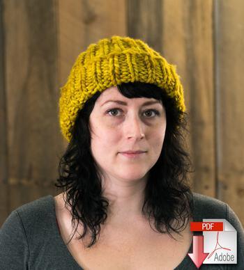 Knitting patterns Monolith hat - Free pattern download
