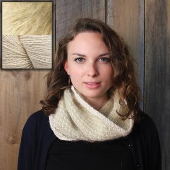 Knitting kits Royal Stitch Cowl Kit - Pure White