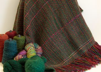 Weaving patterns Forest Glen Broken Twill Throw - Pattern download