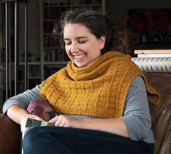 Knitting patterns Fortitude Ponchette Pattern