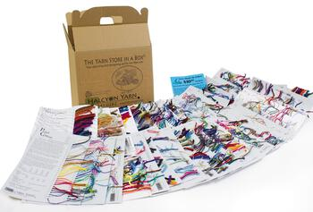 Multi-Craft equipment Yarn Store in a Box