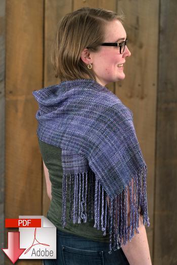 Weaving patterns Block After Block Woven Scarf - Pattern Download
