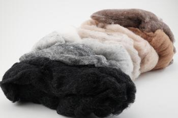 Felting kits Harrisville Sand and Stone Felt Batts - 4 oz.
