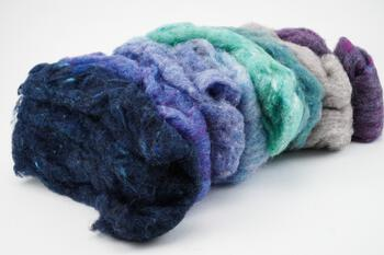 Felting kits Harrisville Maine Winter Felt Batts - 4 oz.