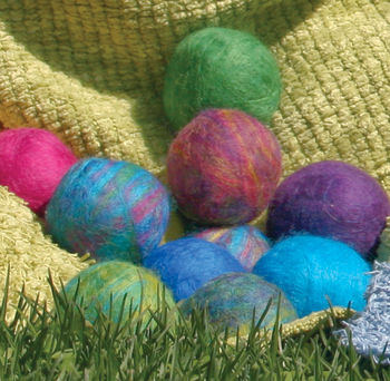 Felting kits Felted Soap Balls Kit