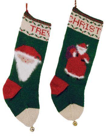 Knitting kits Santa Christmas Stockings - Yankee Knitter