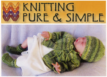 Knitting patterns Newborn Layette by Knitting Pure and Simple