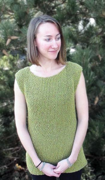 Sweaters Shells Tank Tops And Ts Knitting Patterns Halcyon Yarn