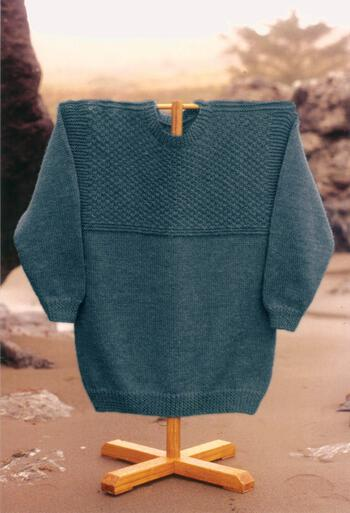 Knitting patterns Port Orford Pullover