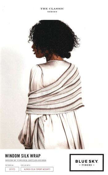 Knitting patterns Windom Silk Wrap