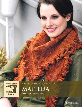 Knitting patterns Patagonia Merino Matilda Wrap
