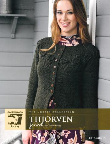Knitting patterns Patagonia Merino Thjorven Jacket