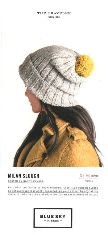 Knitting patterns Milan Slouch