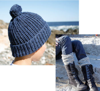 Knitting patterns Candide Ragg Socks and Cap Number 38