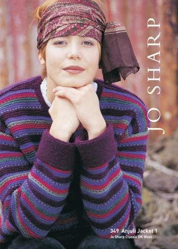 Knitting patterns Jo Sharp Anjuli Jacket and Coat Pattern