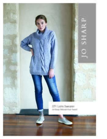 Knitting patterns Jo Sharp Lotte Sweater - Pattern